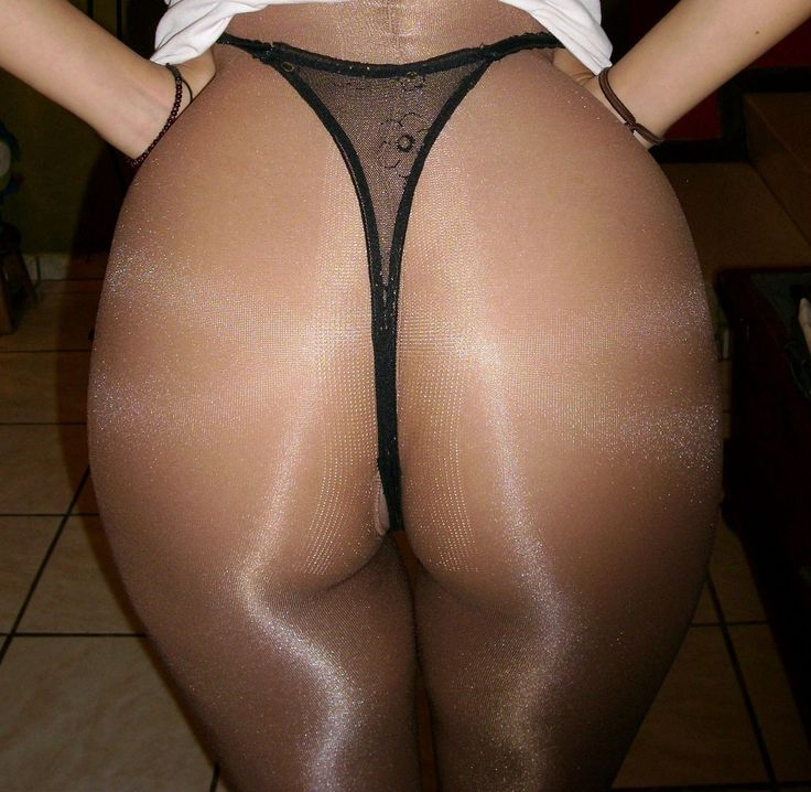 In Black Pantyhose What Could 18