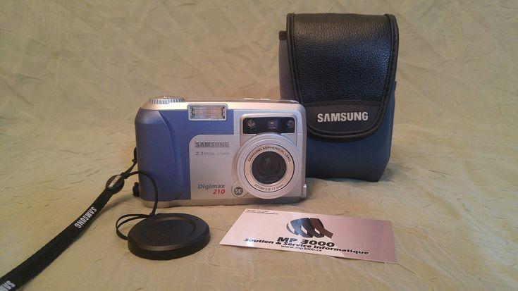 Camera Digital Samsung Digimax 210 SE 2MP  https://mp3000.ca/produit/camera-digital-samsung-digimax-210-se-2mp/ 59$ Usagé Garantie 60 jours  MP3000 Soutien et Service Informatique  514-433-8469 #mp3000
