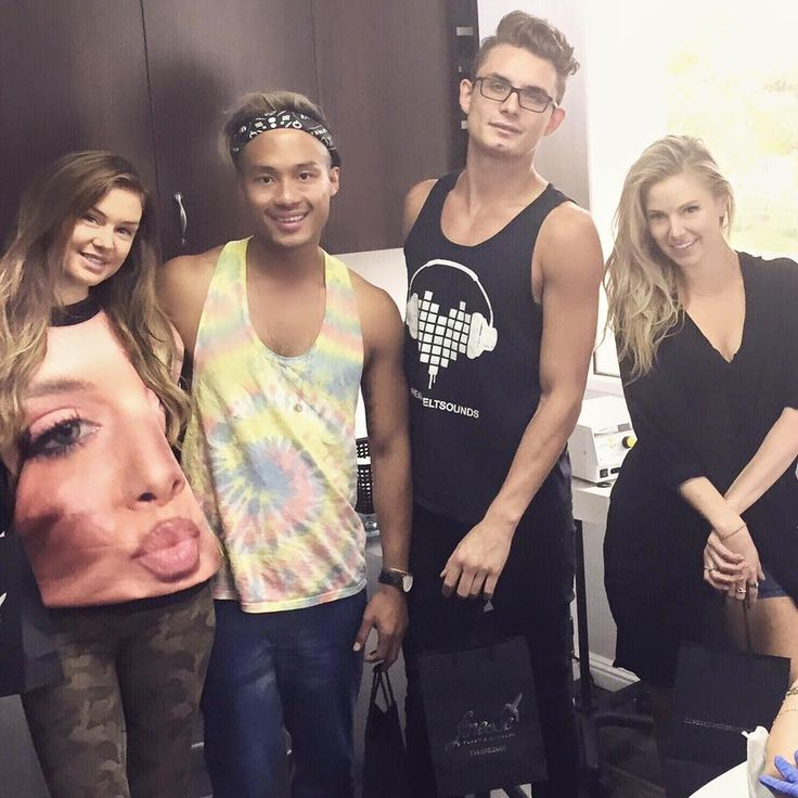 Last week's schedule was filled with Diamond Tip Silk Peel Facials and this group!  They know the secret to having their skin look and feel amazing!! #bravo #pumprules #vanderpumprules #silkpeel