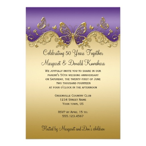 Best Anniversary Invitations  Gifts Images On