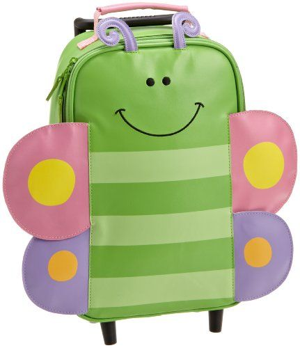 Details at http://youzones.com/stephen-joseph-girls-2-6x-girls-rolling-backpack-butterfly-one-size/