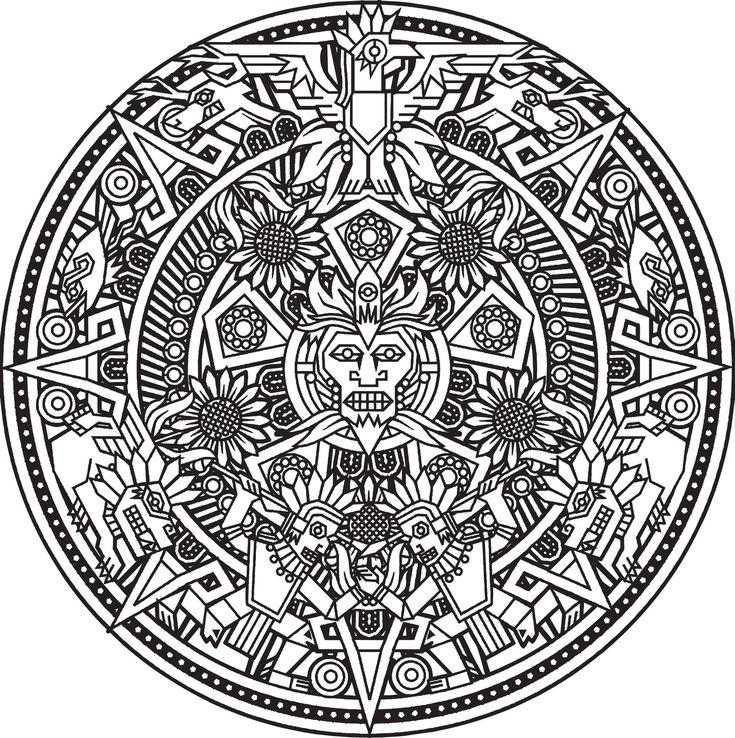 les 25 meilleures id es concernant tatouages maya sur pinterest tatouage azteca art azt que. Black Bedroom Furniture Sets. Home Design Ideas