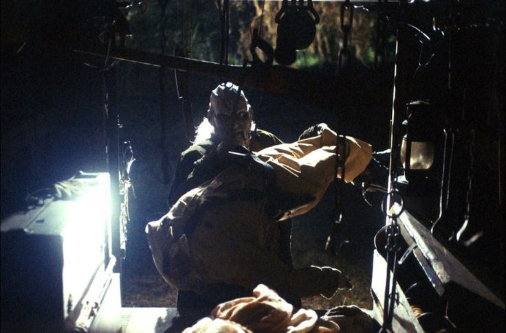 Jeepers Creepers - tossing bodies into the truck.