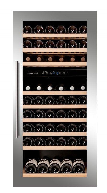 Dunavox inbouw wijnklimaatkast DAB-89.215DSS - Product in beeld - Startpagina voor keuken ideeën | UW-keuken.nl