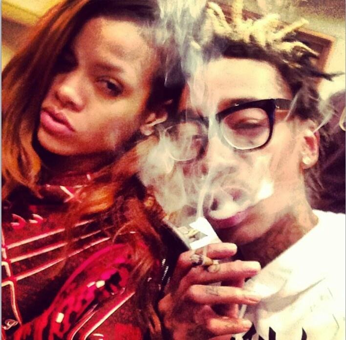 Up in smoke #GWAN #Rihanne  #WizKhalifa