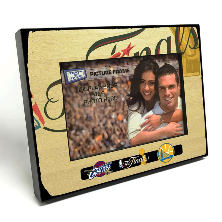Golden State Warriors vs. Cleveland Cavaliers 2017 NBA Finals 4x6-inch Picture Frame - Golden State Warriors - Official Online Store
