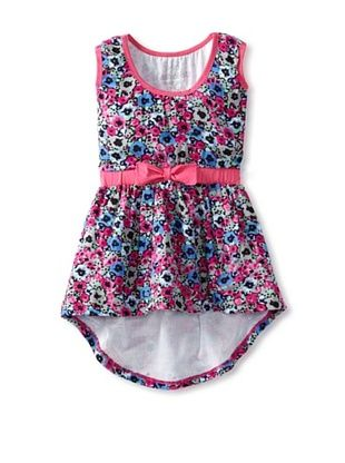 65% OFF Mini Fashionista Girl's Spring Dress (Pink)