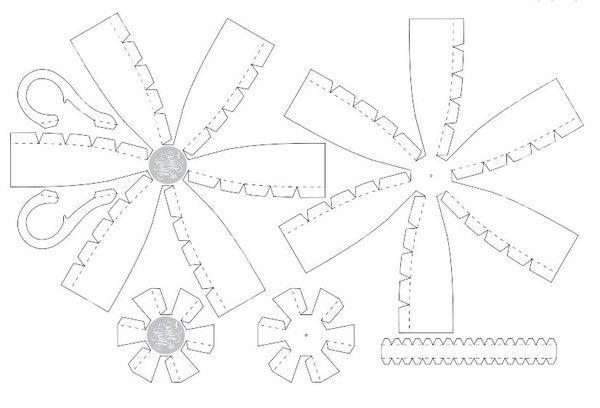How to Make Colorful Striped Paper Teacups | www.FabArtDIY.com LIKE Us on Facebook ==> https://www.facebook.com/FabArtDIY