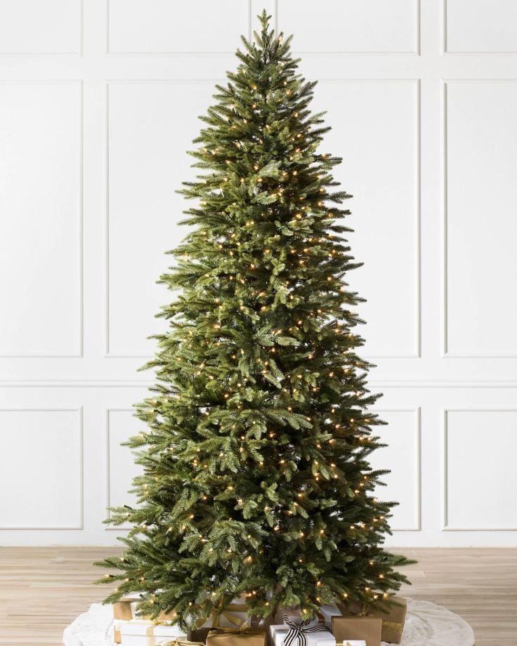 "8 ft x 49""- reg $599 https://www.balsamhill.com/p/silverado-slim-artificial-christmas-tree?sku=2802772#prodDescription"