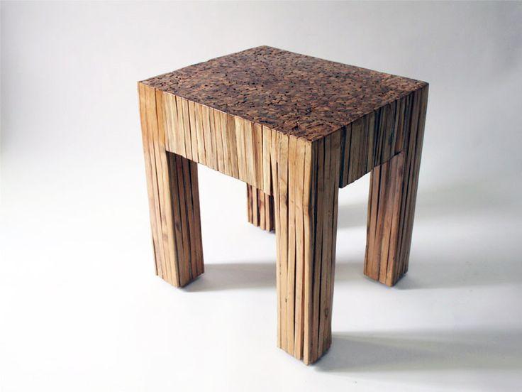 Table In Recycled Bamboo » Alaya Design Studio