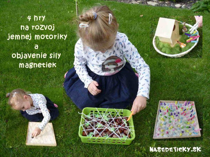 Hry na rozvoj jemnej motoriky pre najmenších.