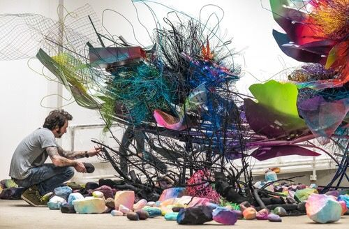 At L.A. Doctor's New Gallery, #Art Is #Medicine via Artsy https://www.artsy.net/article/artsy-editorial-la-doctors-new-gallery-art-medicine