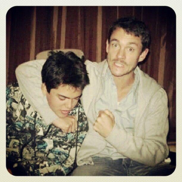 #Coach Hugh (Nick) and Jonathan (Hector)