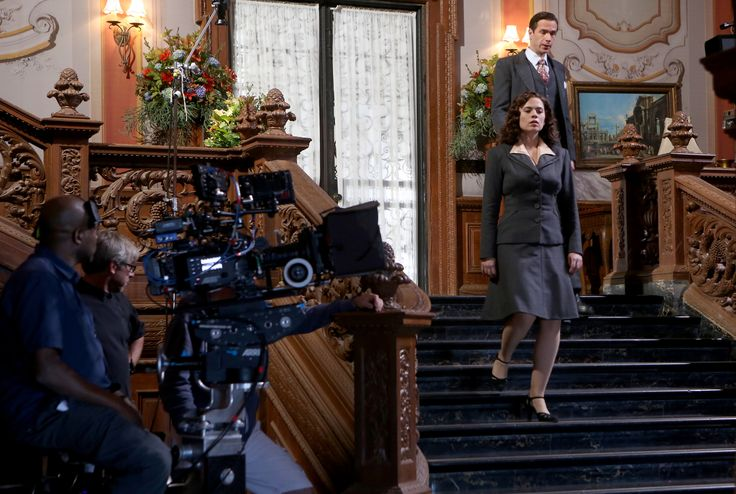 """Marvel's 'Agent Carter': Hayley Atwell plays capable 1946s spy for TV show (Dated: Jan. 02, 2015) Quote: """"Lucky for us!"""" """"Yeah, lucky for us. It got handed to us on a silver platter. Who would do that?"""" .. Agent Carter. A sharp & talented investigator with some powerfull contacts, a British accent, and great hair. She mourns the missing and presumed dead Captain America, while men assume she is at-best, a secretary. Then eerie weapons of Stark Ind. are nicked, and she must find them first!"""
