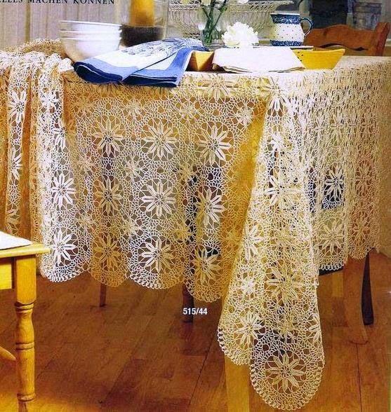 Lindíssima toalha rendada em crochê....               Grafico   Grafico