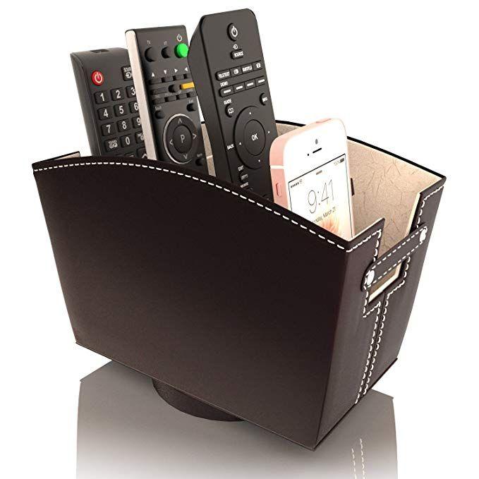 Remote Control Holder Caddy Bedside Organizer Remote Control