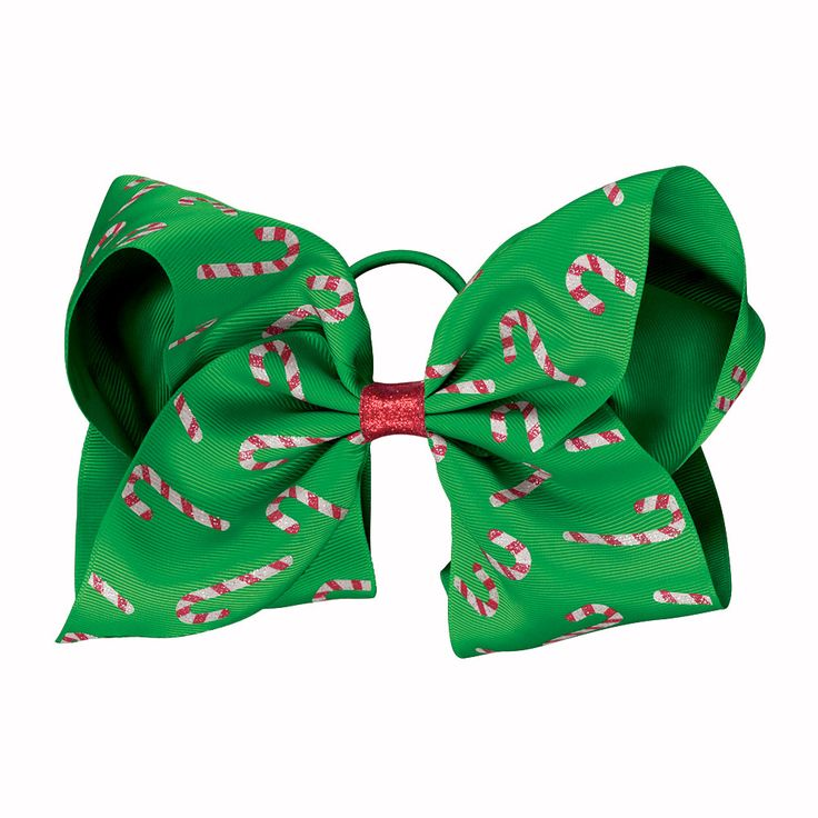 Complete your holiday parade with candy cane cheerleading hair bows! Shop the Candy Cane Performance Hair Bow now.