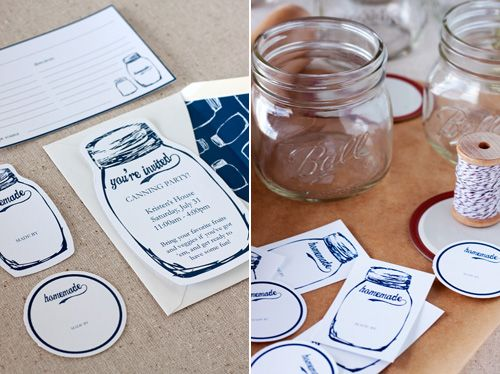 FREE Canning Printables for all the jars of fruits & veggies you put up!