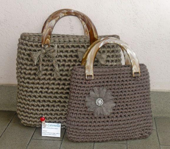 Tutorial: create a crochet bag with ribbon