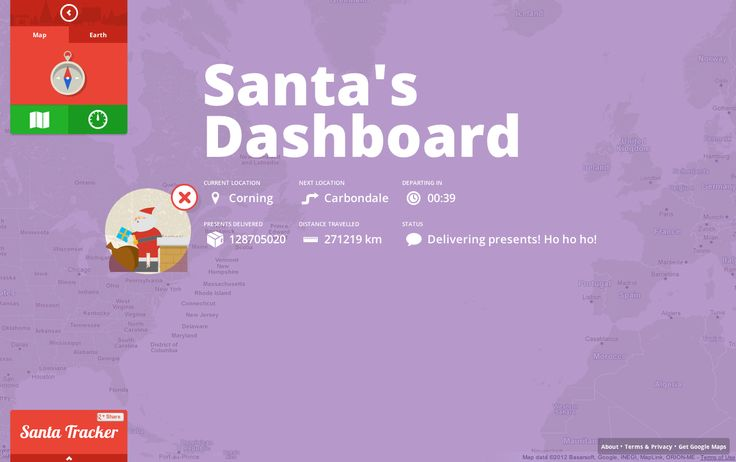 Google Launches Santa Tracker, Chrome Extension, Android app