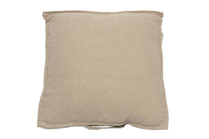 MrsBLOOM: Linen Boxcushion natural 40x40