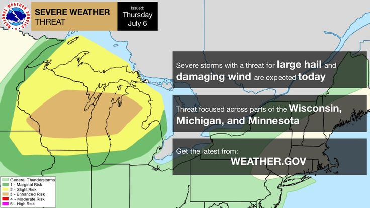 There is an enhanced risk of severe thunderstorms mainly over parts of Wisconsin and Michigan today. Visit  http://weather.gov for more.pic.twitter.com/4ZFJtK9byN - https://blog.clairepeetz.com/there-is-an-enhanced-risk-of-severe-thunderstorms-mainly-over-parts-of-wisconsin-and-michigan-today-visit-httpweather-gov-for-more-pic-twitter-com4zfjtk9byn/