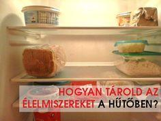 var FBL_LANG_DEFINED = 'hu_HU';Nemrég vettünk új hűtőt, ennek kapcsán kicsit utánanéztem hogyan is kell helyesen tárolni a hűtőben az élelmiszereket. A megfelelő tárolás fontos szerepet játszik az ételek eltarthatóságában: a hideg lelassítja a veszélyes mikrobák szaporodását. A hűtőtéren belül nem egyforma a hőmérséklet, a zöldségtároló rekesz feletti polc a leghidegebb, a legfelső polc a legkevésbé hideg, a legmelegebb a hűtőajtóban van. Az eltérő hőmérsékletek miatt... Tovább olvasok