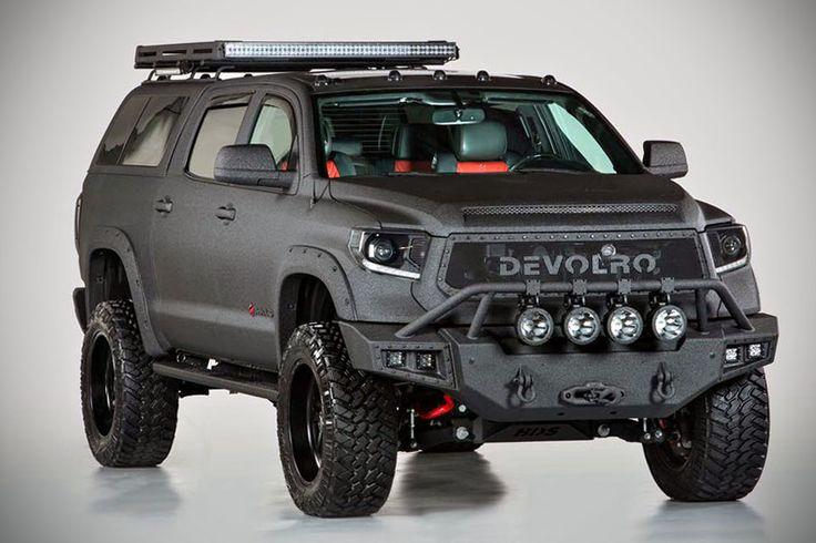 2015 toyota devolro diablo line-x black edition | trucks