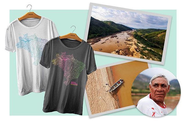 """O Instituto Welight a @osklen e o Instituto-E em parceria inédita lançam a campanha de crowdfunding """"Uatu Ererré"""" cujo objetivo é recuperar recursos naturais da terra indígena Krenak e da cultura deste povo afetado pela tragédia de Mariana em Minas Gerais. Saiba como contribuir para o projeto na coluna @ecoera de hoje de @chiaragadaleta em vogue.com.br - ou clicando no link da bio. #ecoera #premioecoera  via VOGUE BRASIL MAGAZINE OFFICIAL INSTAGRAM - Fashion Campaigns  Haute Couture…"""