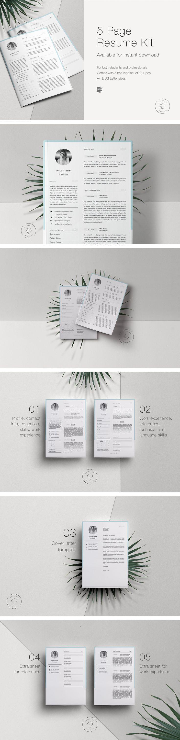 Big Bundle of 7 Resume Templates 141