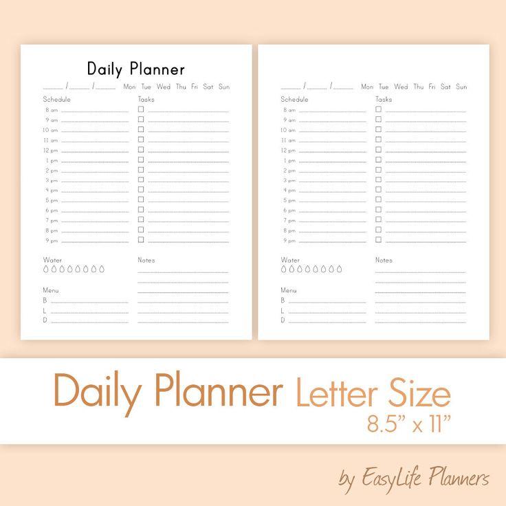 Best 25 daily agenda ideas on pinterest agenda planner for Daily planner maker