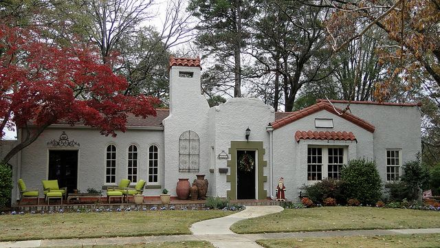 Spanish Mission-Style Home, Homewood, Alabama by Cougar_6, via Flickr