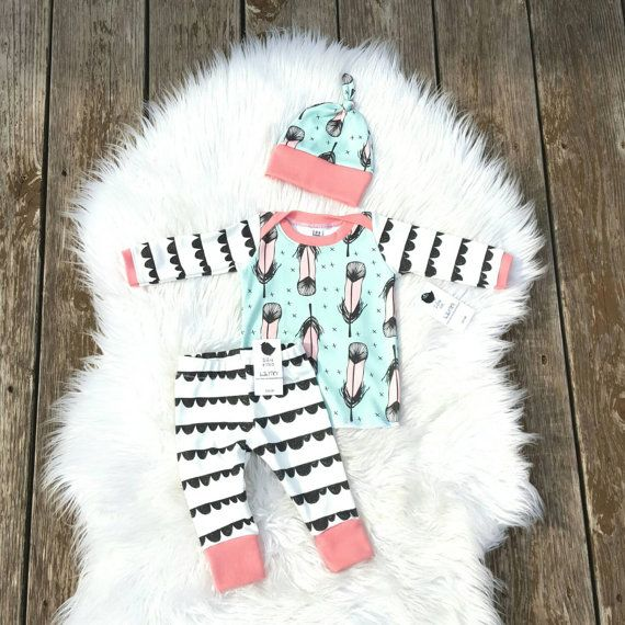 Check out this item in my Etsy shop https://www.etsy.com/listing/243957257/organic-baby-girl-coming-home-outfit