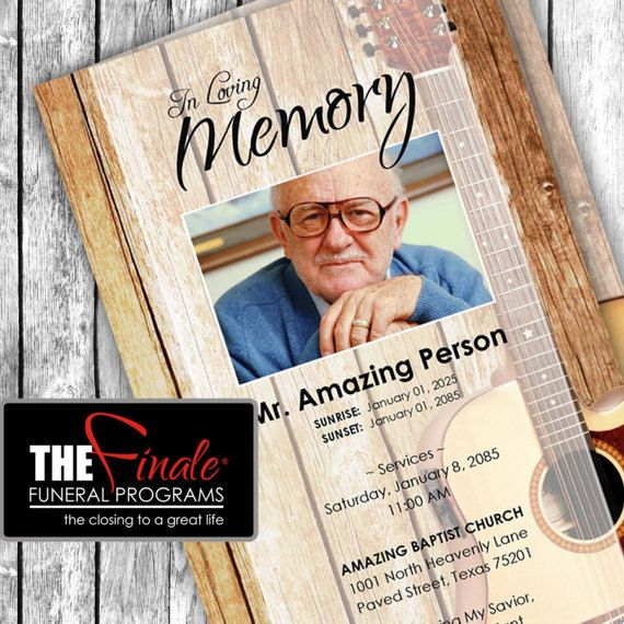 164 best Funeral Program Templates images on Pinterest Templates - funeral program template microsoft