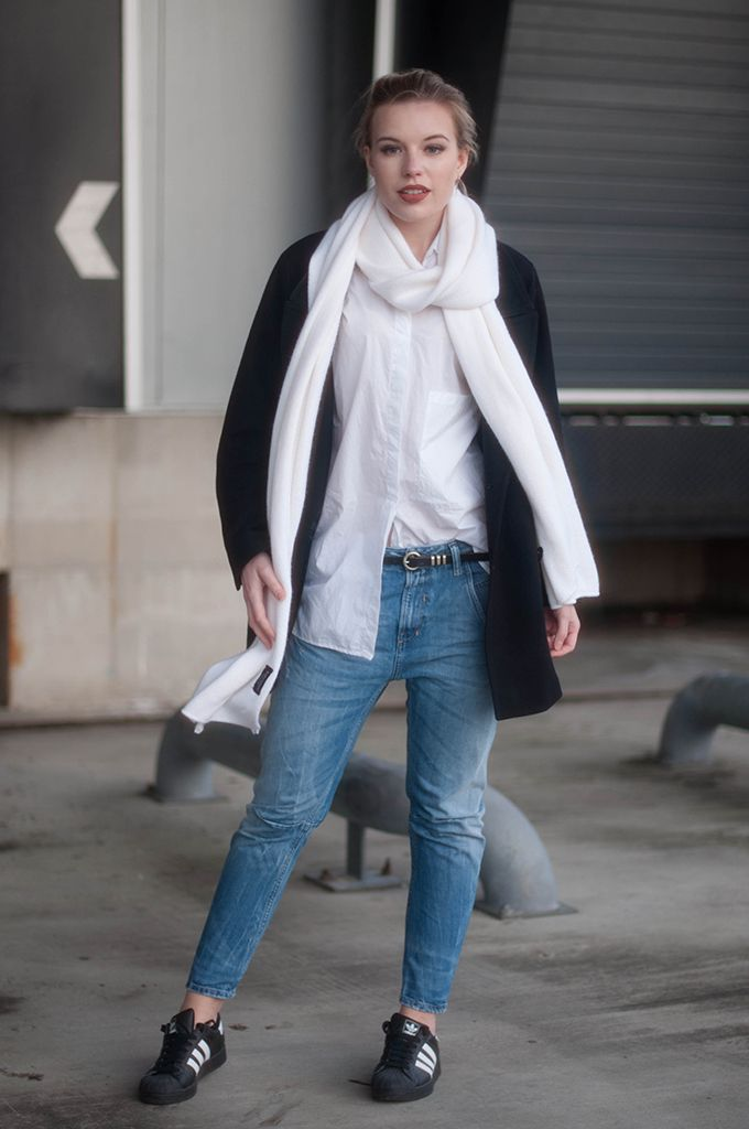 17 Best images about Fayza Boyfriend | Boyfriend jeans Superstar and Fashion bloggers