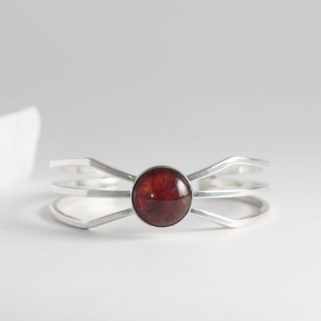 Silver and amber bracelet from Niels Erik From