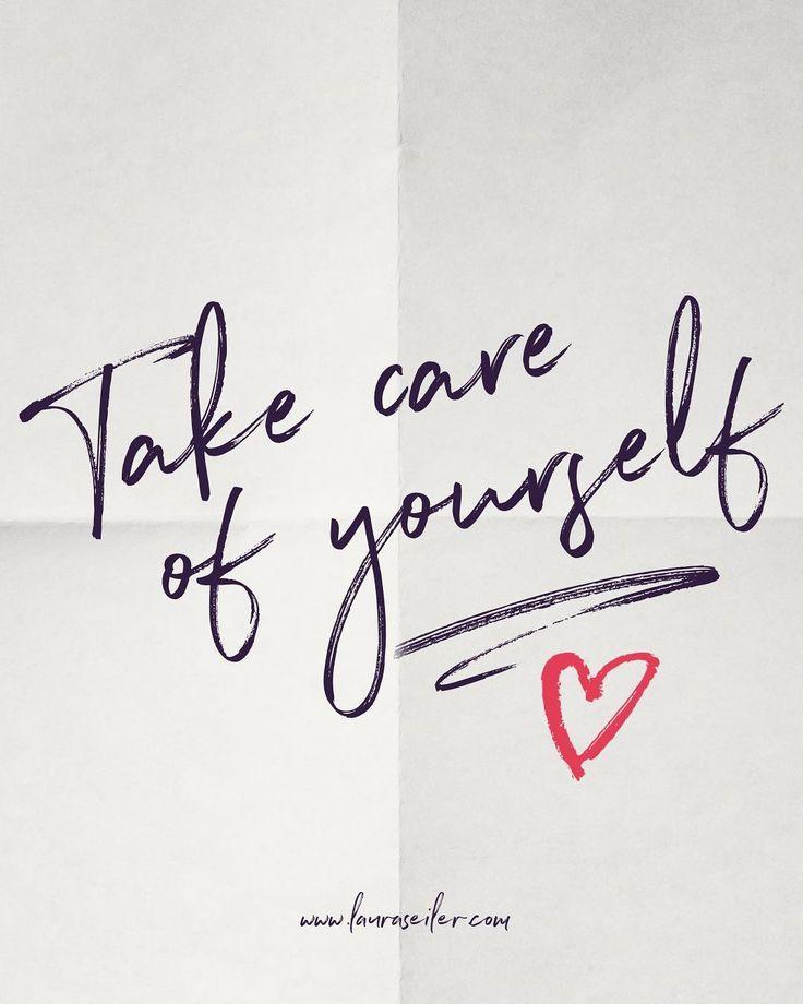 Eine kleine Nachricht von mir an dich (und auch an mich selbst) ❤️ Achte bit… – Laura Malina Seiler