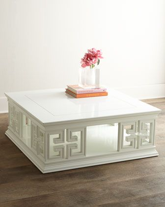 Nikka Lift Top Coffee Table ... coffee tables white tables white wood table jonathan adler cocktail