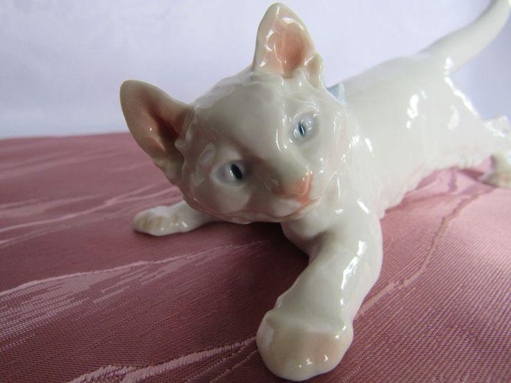 Meissen, Entwurf nach Otto Jarl 1904, Schleichende Katze, Porzellan Nr. U146   eBay