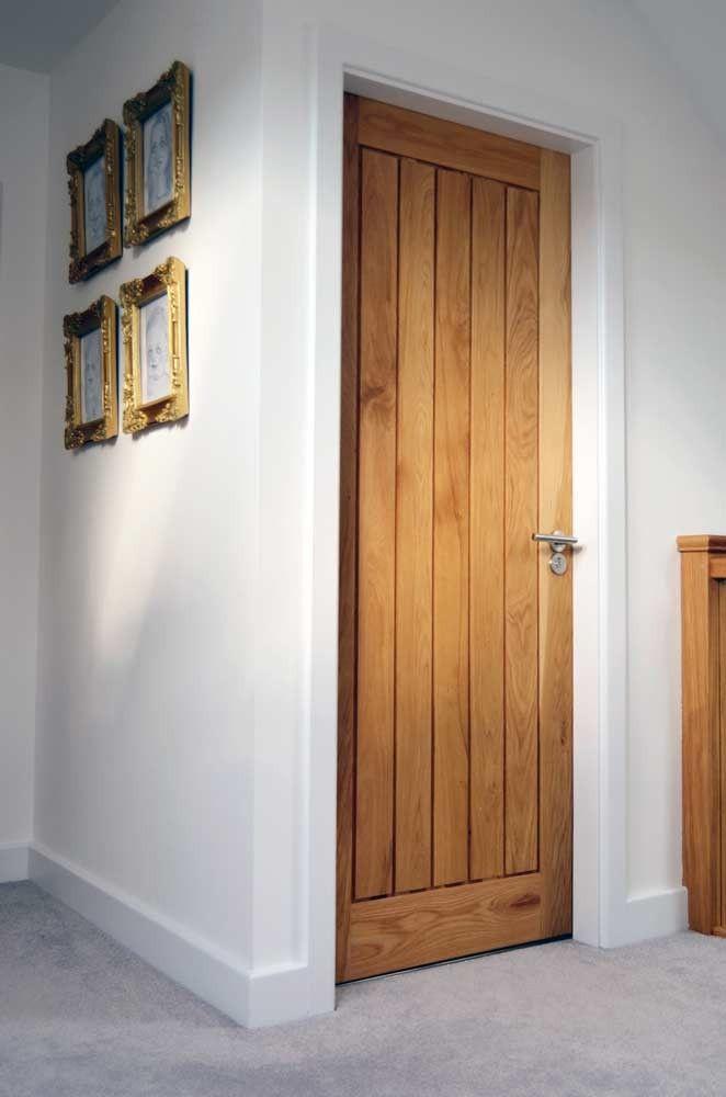 Mexicano Contemporary Solid Oak Door