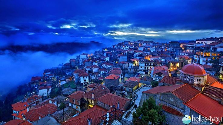 Arachova is one of the most popular winter destinations. The picturesque village of Voiotia, with its stone houses and narrow streets, lies at the foot of Parnassos and it is just a few kilometers away from the largest and the most organized ski center in Greece.