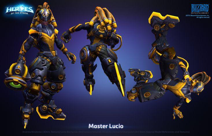 ArtStation - Lucio Master Skin, Andrew Kinabrew