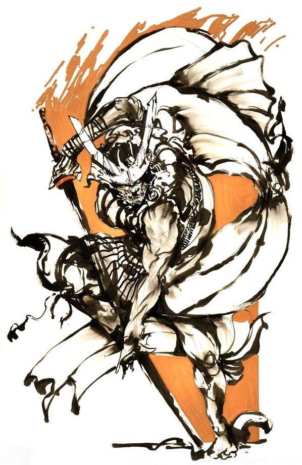 Samurai Gold 1 by Kekai Kotaki
