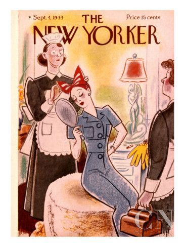 The New Yorker Cover - September 4, 1943 Poster Print by Rea Irvin at the Condé Nast Collection
