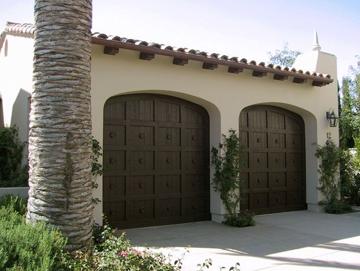 32 best images about spanish style garage doors on for Door in spanish