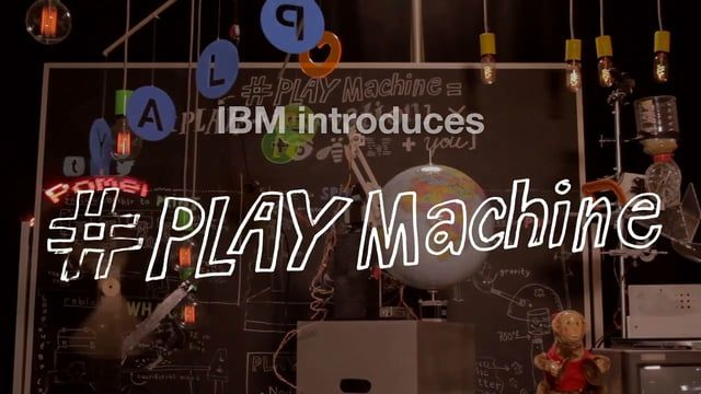 IBM Research presents the #PlayMachine.  A live, art (+science) installation on IBMblr  Learn more: sammazur.com/#/ibm-innovation-through-play  Cannes Cyber Lions: Bronze - Web Campaign - Corporate Image & Communication  Cannes Cyber Lions: Shortlist - Social - Influencer/Celebrity/Blogger Outreach Program