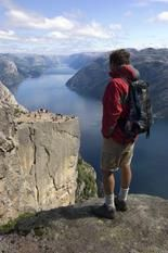Preikestolen (the Pulpit Rock) is one of the most visited attractions in Norway, and one of the most photographed sites!
