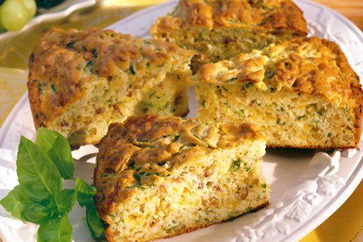 Zucchini-cheddar bread | Food | Pinterest