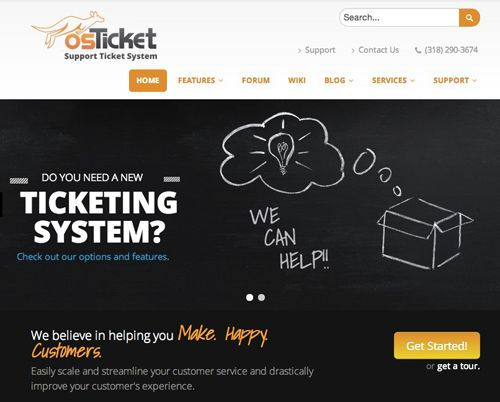 Free ticketing systems