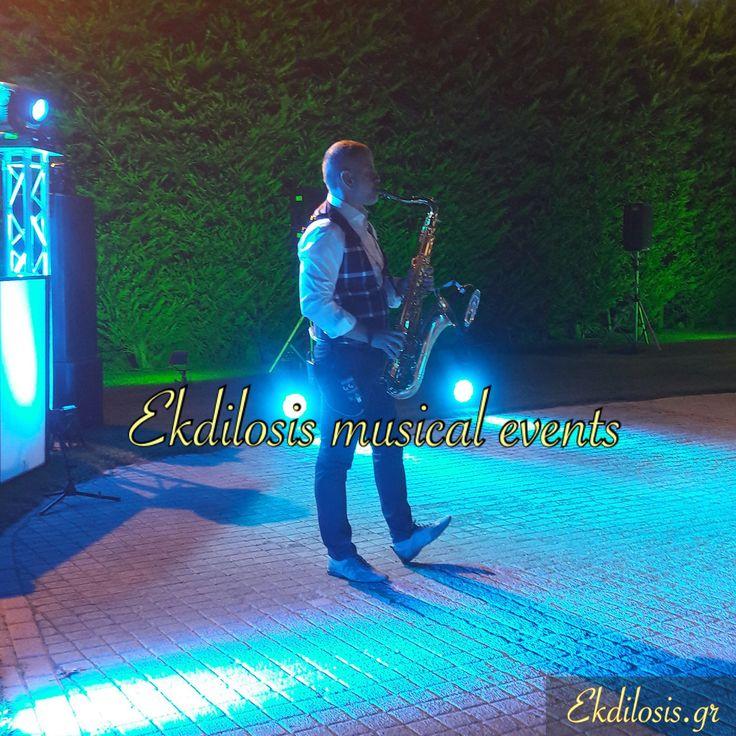 Ekdilosis wedding saxophone events
